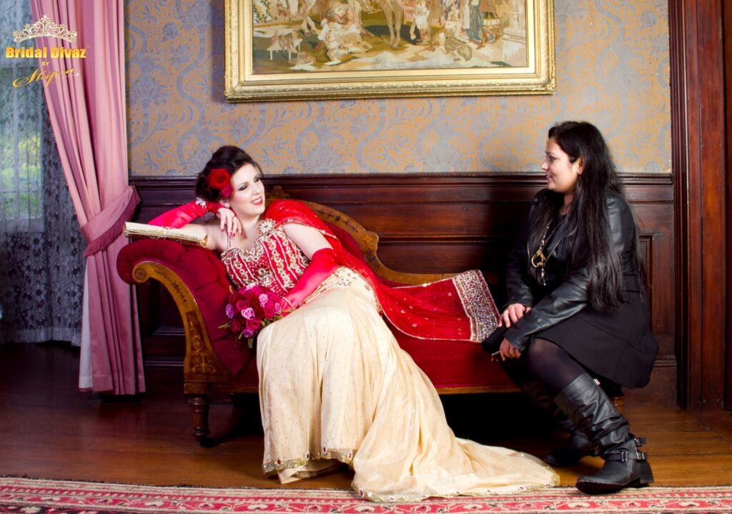 Designer Bridal wear in New-Zealand by BRIDAL DIVAZ ® by SHIPRA