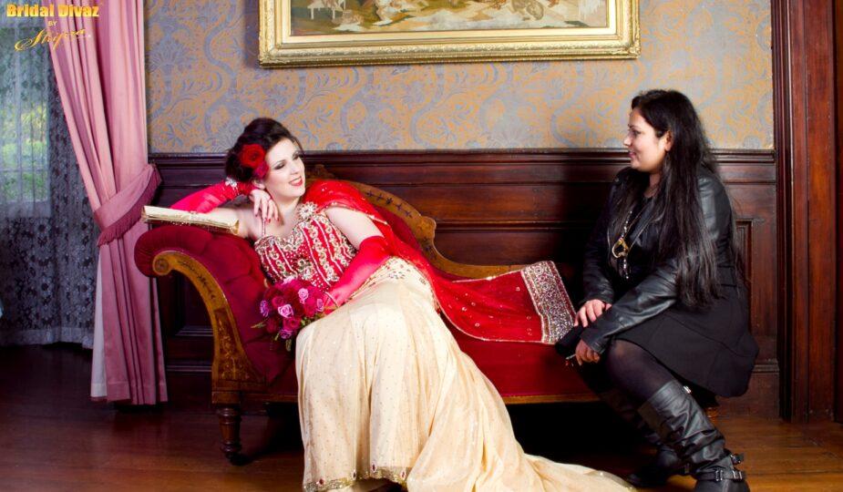 Designer Bridal wear by BRIDAL DIVAZ ® by SHIPRA