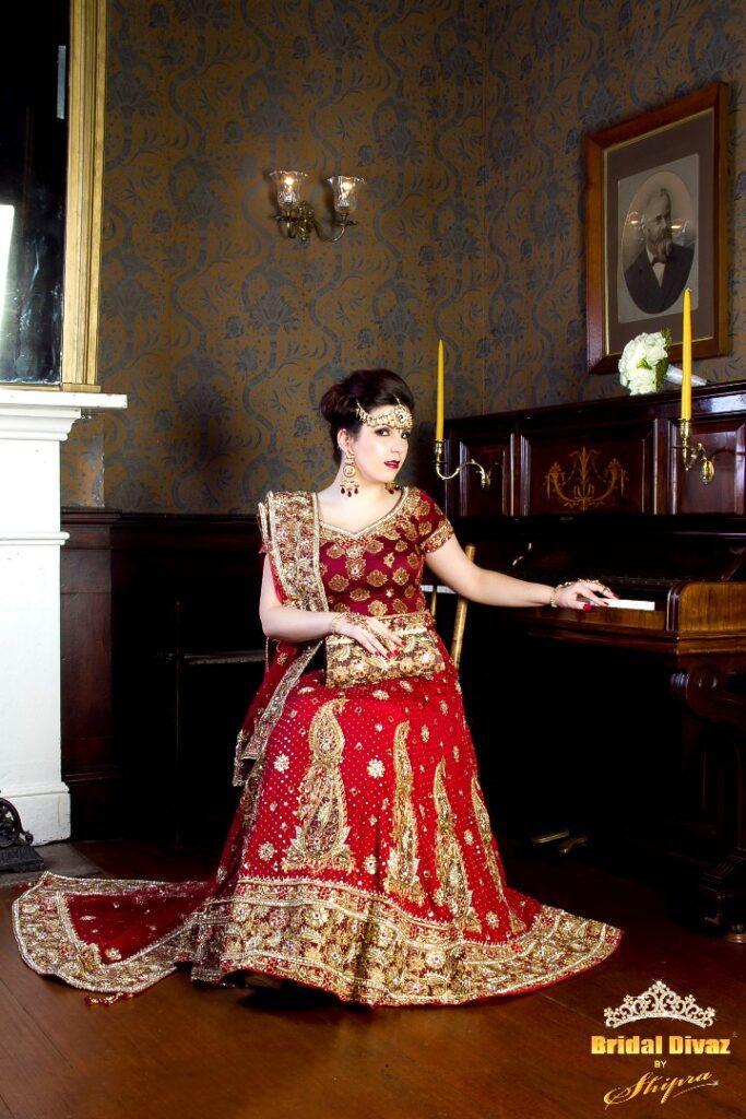 Designer Indian Bridal heavy Lehengas BRIDAL DIVAZ ® by SHIPRA