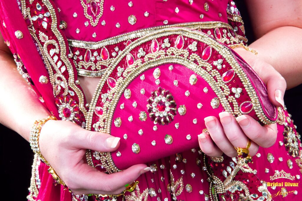 Custom made bridal accessories by BRIDAL DIVAZ ® by SHIPRA