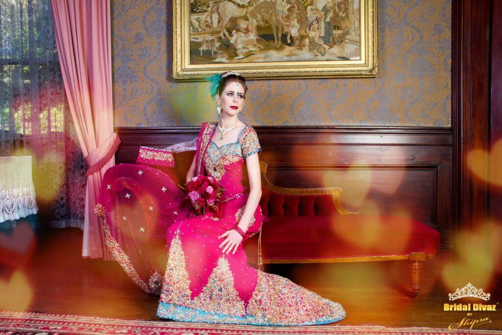 Indo-western Wedding lehengas by BRIDAL DIVAZ ® by SHIPRA