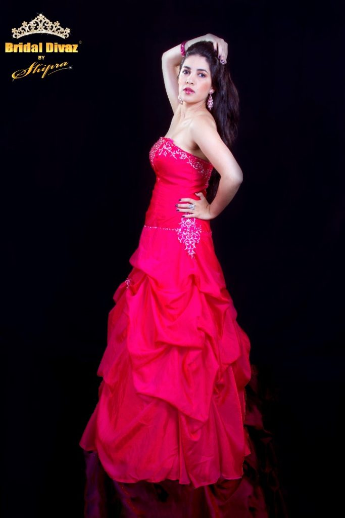 ready to wear evening gown by BRIDAL DIVAZ ® by SHIPRA